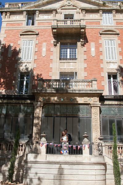 Mariage franco-américain en Provence